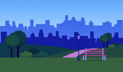 office image; City vector created by studiogstock - www.freepik.com
